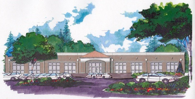 Picture of rendering of Charter School, Orangeburg, South Carolina