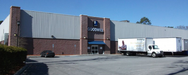 picture of N Charleston, SC Goodwill Warehouse